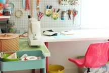 Sewing room / by Fiona Tchan