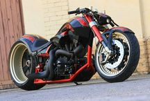 Harley Davidson Motorcycles / by Phil Dodgen