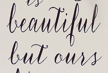 Sayings / by Christine Rivett