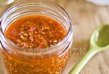 Sauce, Dip, sambal & other condiments / by Felicia Maurin