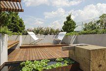 My rooftop garden / by Gideon Koh