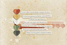 Freebie Digital Scrapbooking Clustrers / by Ania Kozlowska-Archer
