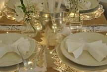 Table setting / by Tracy Davis
