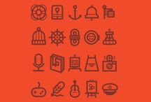 Icons / by The Australian Graphic Supply Co