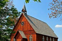 Churches / by Barb Brown