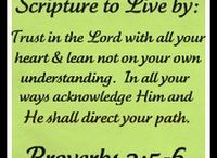 Favorite Scriptures and Quotes / by Linda Aubrey