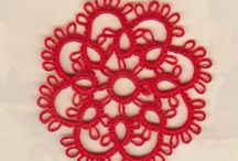 spool pin doilies / by Lori Genther