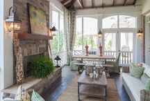 Outdoor Living Space / by Kelli Anderson