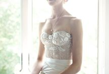 Beautiful Wedding Dresses / Some of my favorite, stunning wedding dresses from around the web... / by Something Turquoise