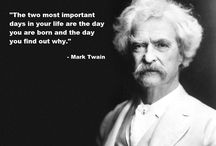 Mark Twain / by Peggy Gregoire Johnson