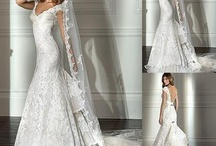 I have always wanted to design wedding gowns..  / by