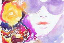 Art, Illustration, and Graphic Design / by Trish Doornbosch