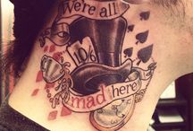 Alice in Wonderland tattoo ideas / by Chad Wick