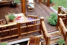 Outdoors -pools and decks / by Mia Kemp