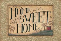 Love It! - Home Sweet Home / Those little things that make a house a home.  Plus some really cool decorating ideas for our new place! / by The Mighty HeathRa