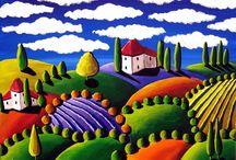 Art: Acrylics,Oil,Watercolor,Etc. / by Beth Friedman
