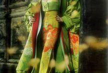 Kimono Inspirations / by Melanie Augustin (Kimono Reincarnate)