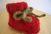 knitted slippers / by Karen DeWar