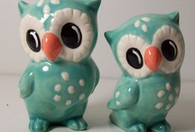 OWLS - Decor, Collectibles, Jewelry, Art / by Gladys Hagerty