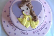 Princess Belle Cake / by Fancy Fondant Cakes by Emily Lindley