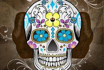 Sugar Skulls / by Elisa Rae