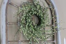 wreaths / by Cynthia Pronovost