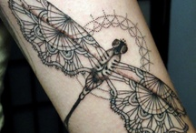 Body Art & Inspiration / Swirls, dragonflies, henna-inspired pieces, lilies and loti mix with pretty ladies, gypsies, and dancing girls.  / by Aeshna Mairéad
