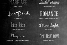 Graphic Design: Fonts / Beautiful Fonts For Graphic Design / by Dandelion Dust Designs