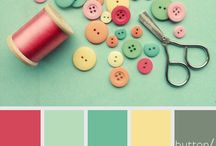 colors, colors, everywhere / by Polka Dot Cottage