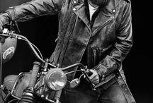 Biker hairstyles / best hairstyles for bikers! (Men) / by Sandeep Reddy