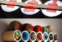 Yarn Storage Ideas / by jkwdesigns