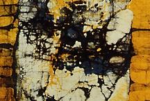 dye*print*paint*stamp*transfer*distress... / by Gabriella Molnár
