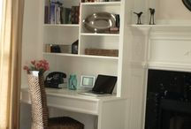Small home office remodel / by Kellie Chanchay