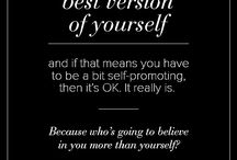 Best version of yourself / by Susie Pollard