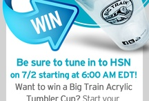 "Big Train on HSN Giveaway / Big Train is going to have EXCLUSIVE products featured on HSN tomorrow 7/2! Just look for ""Food Creations and Celebrations on the HSN Channel Guide for listings. http://tinyurl.com/bigtrainonhsn