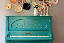 We are painting a piano! / by Kimberly Carpenter
