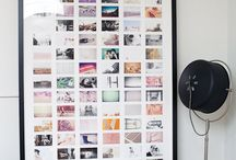 ways to display photos / by Gretchen Konieczko