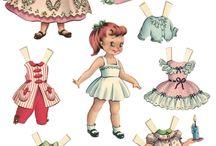 paper dolls / by Patsy Lineback