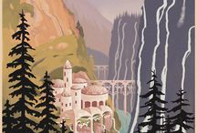 Middle-earth Illustrations / by Middle-earth News