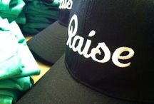 Raise Office Fashion / Look at how our Raise team represents our logo #design #Raise / by Raise Gift Card Marketplace