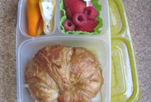 Kids - Bento and Other Lunches / Packable ideas for kids and husband. / by Jessica McFarland