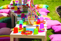 Candyland Party / #Candyland Themed #Party #Birthday #Rainbow #SweetShoppe / by Sweet City Candy