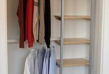 closet organizers / by Robin Goodman