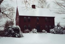Homes I love.... / by Primitive Folk Artist Sue Corlett