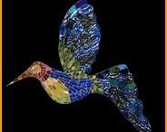 mosaics ~ birds & butterflies & dragonflies / by Cathi Matthews