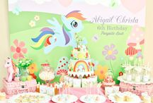 My little pony party / My little pony / by Steph Gomez