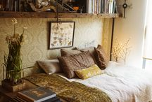 sleepy spaces  / beds, bedrooms and soft spaces.  / by Sarah Dawn