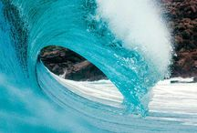 """Waves / """"Catch a wave and you're sitting on top of the world"""" / by Pearls With Plaid"""