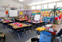 classroom layout & decor / by Gina Hester
