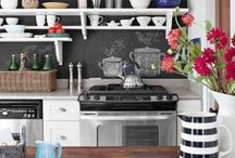Kitchen & Dining / kitchens, dining rooms, home design, home decor / by Christy Smith